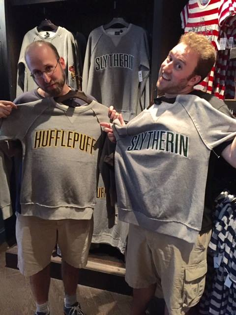 Hufflepuff and Slytherin