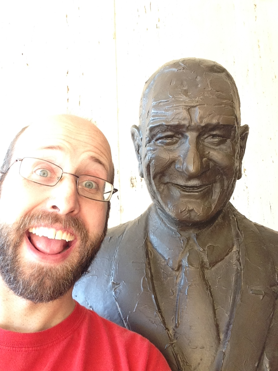 LBJ and me